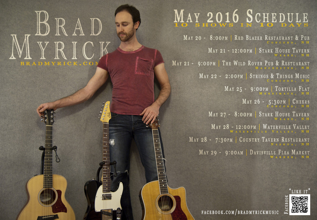 Brad Myrick live May 2016