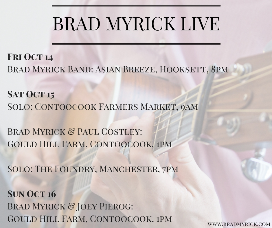 Brad Myrick Oct 14-16, 2016